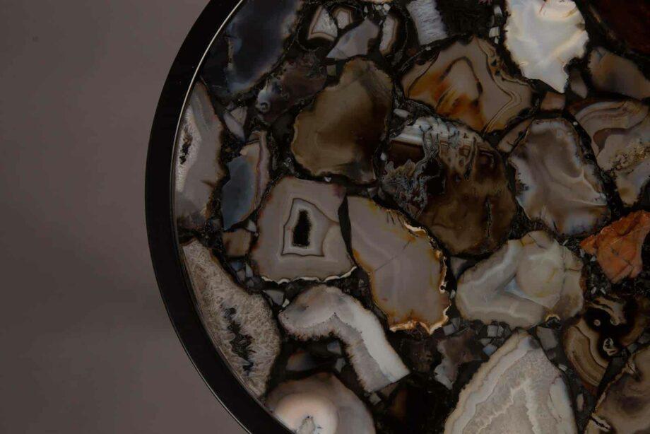 Agate bijzettafel Dutchbone