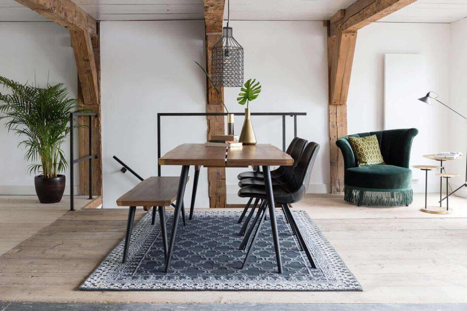 Alagon sofa and table Dutchbone