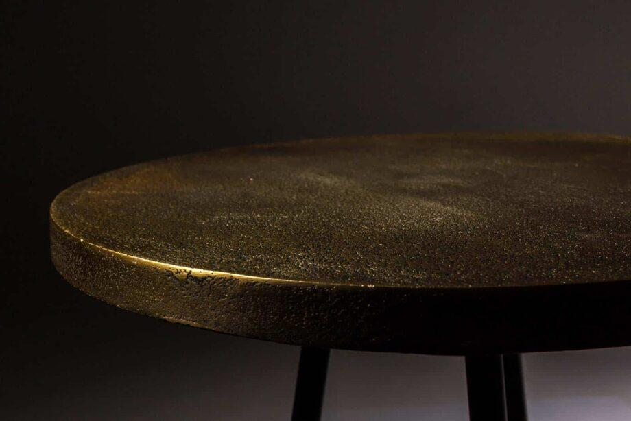 Alim bijzettafel Dutchbone goudkleur