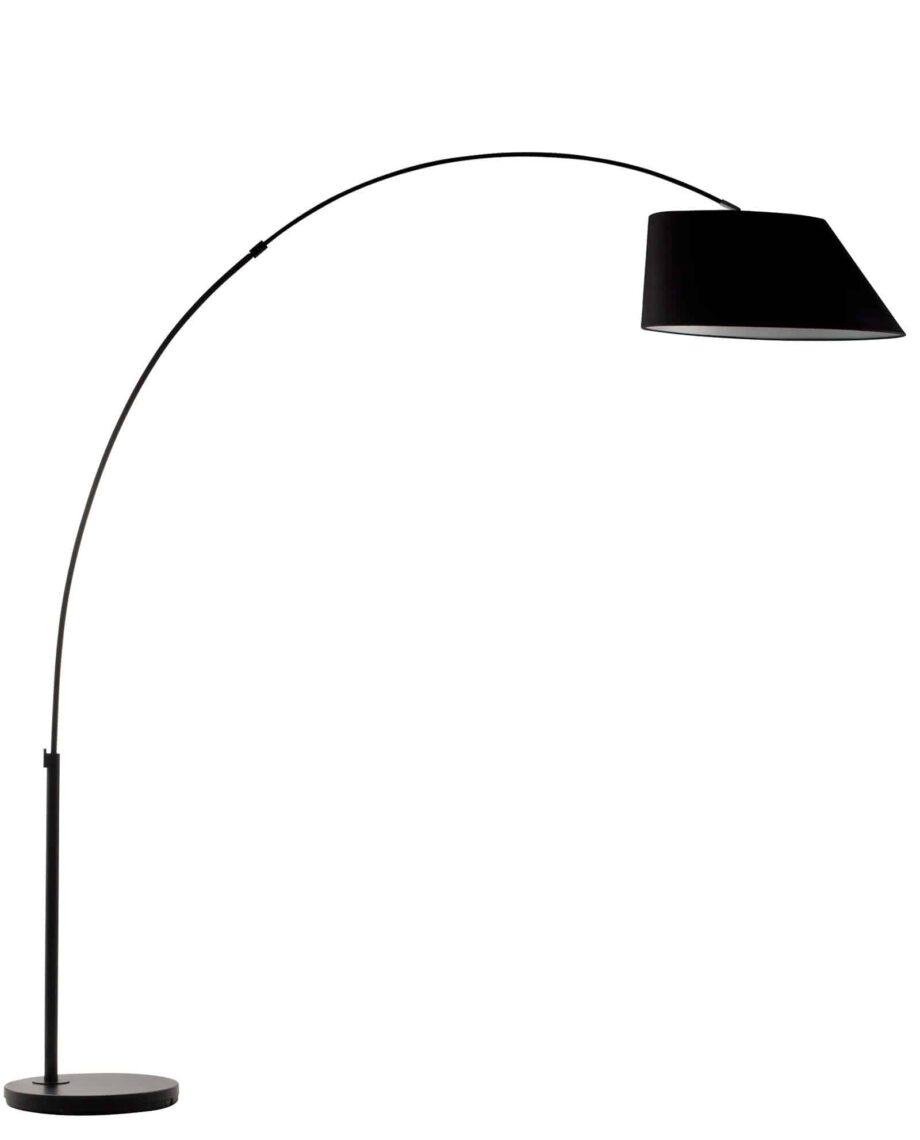 Arc vloerlamp Zuiver zwart