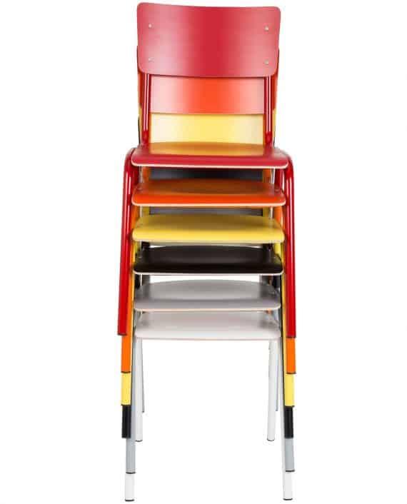 Back to School stoelen Zuiver wit