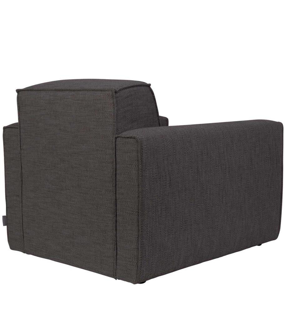 Bor sofa 1 zetel Zuiver donkergrijs