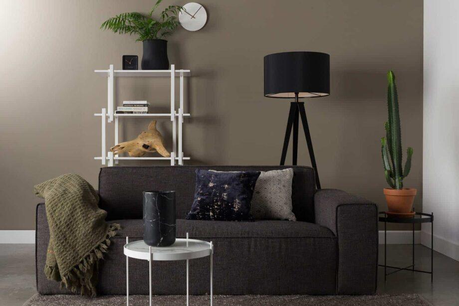 Bor sofa 2,5 zetel Zuiver donkergrijs