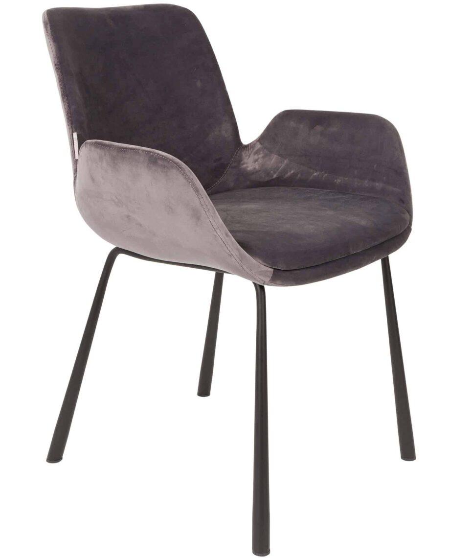Brit armchair Zuiver grey