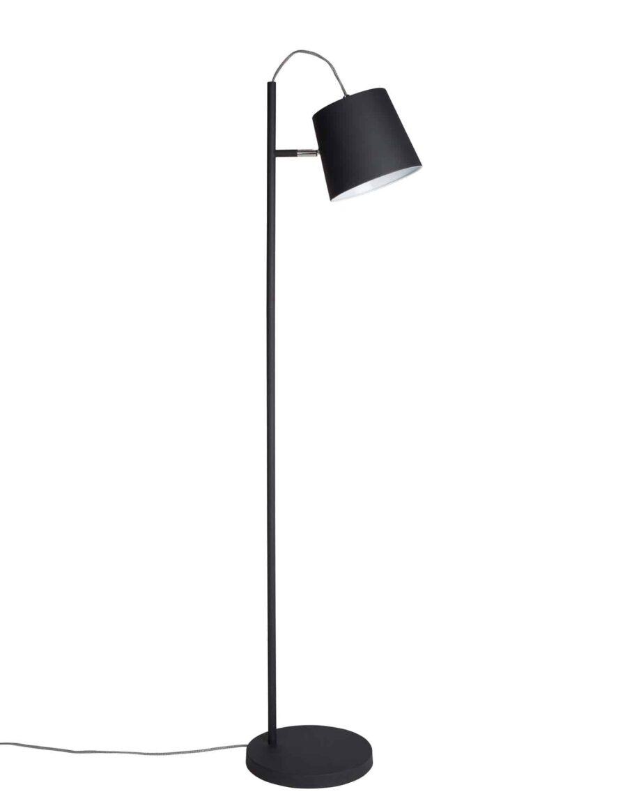 Buckle Head vloerlamp Zuiver zwart