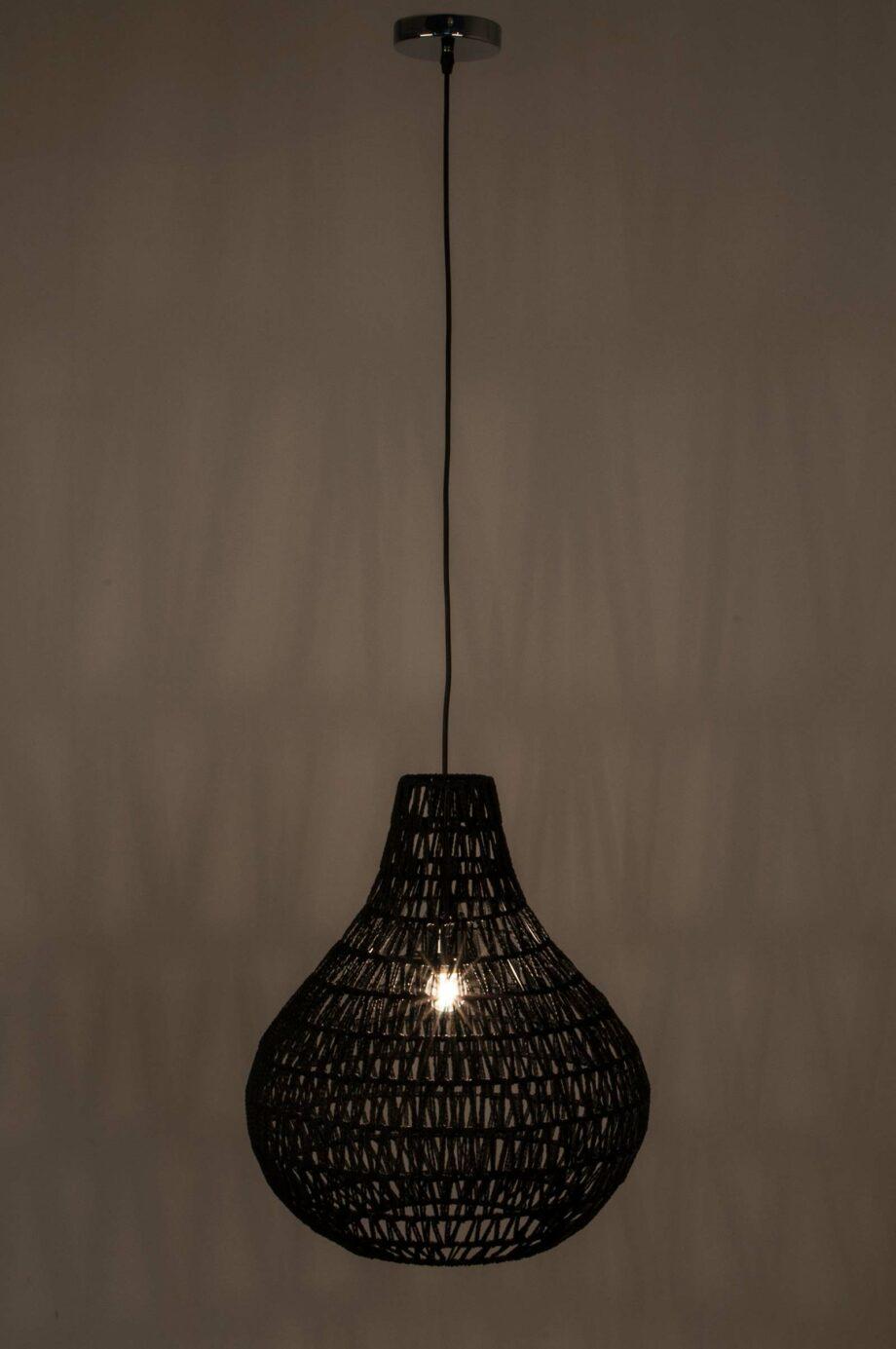 Cable Drop lamp Zuiver zwart