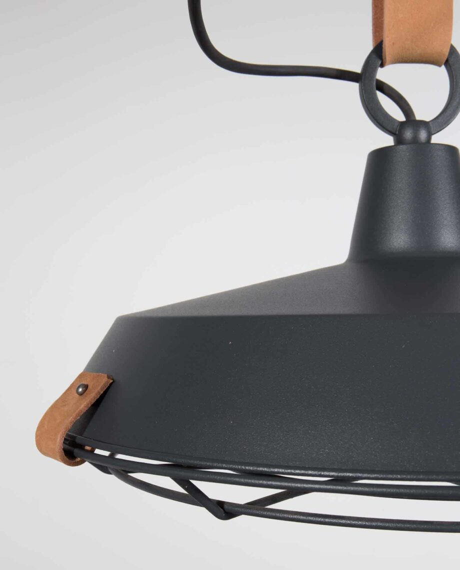 Dek 40 hanglamp Zuiver zwart