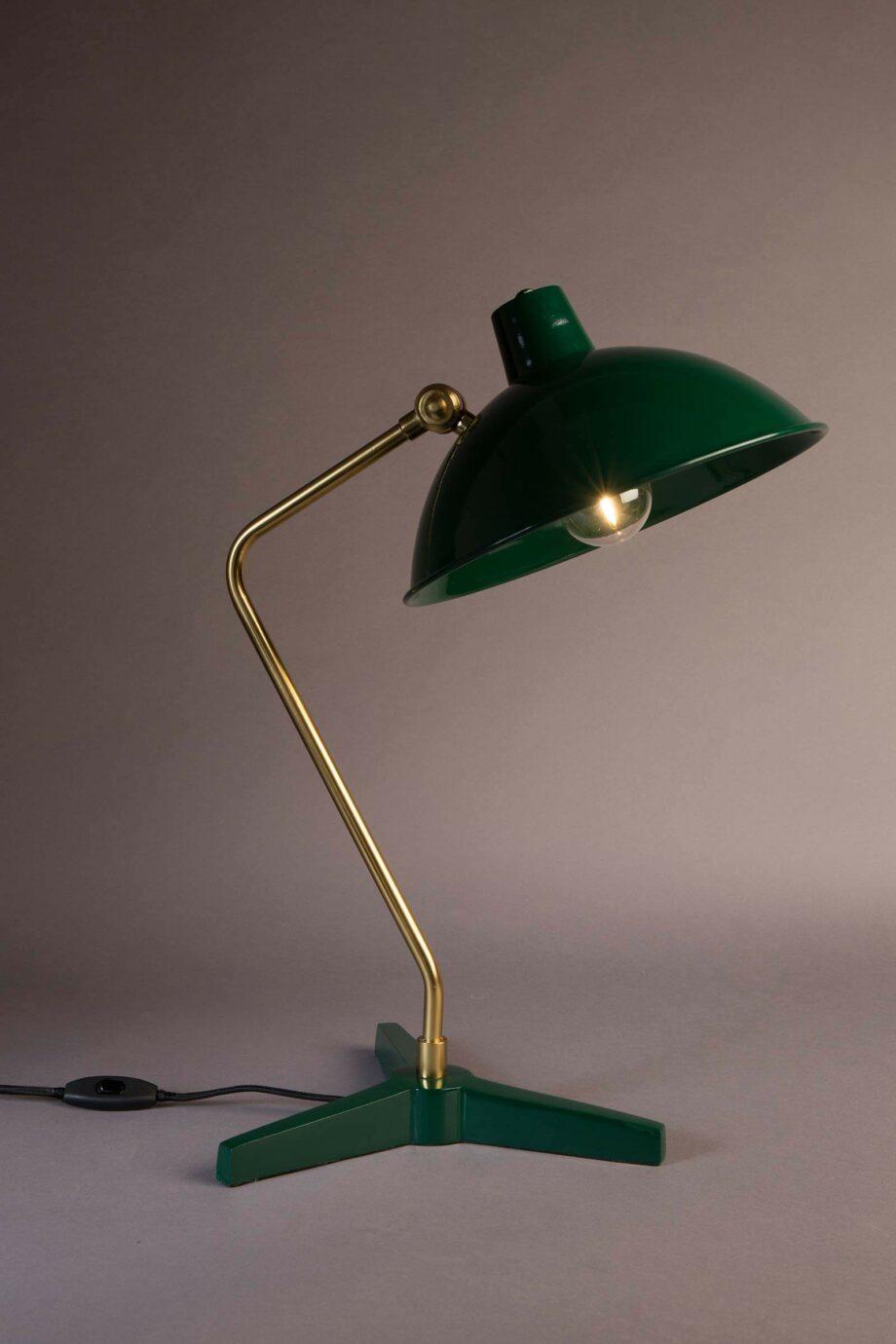 Devi tafellamp Dutchbone groen
