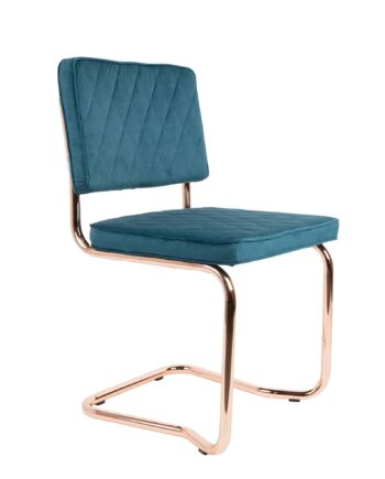 Diamond Kink stoel Zuiver azuurblauw