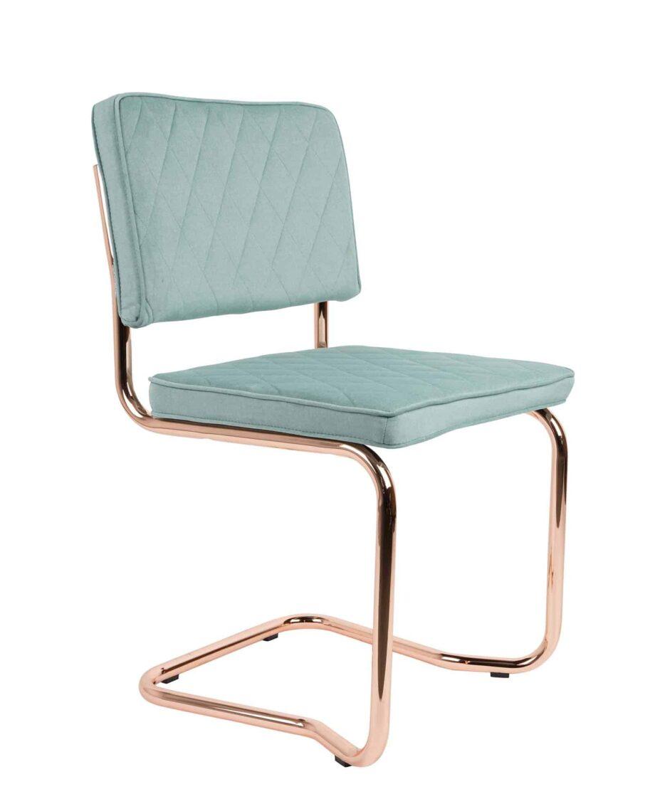 Diamond Kink stoel Zuiver licht blauw