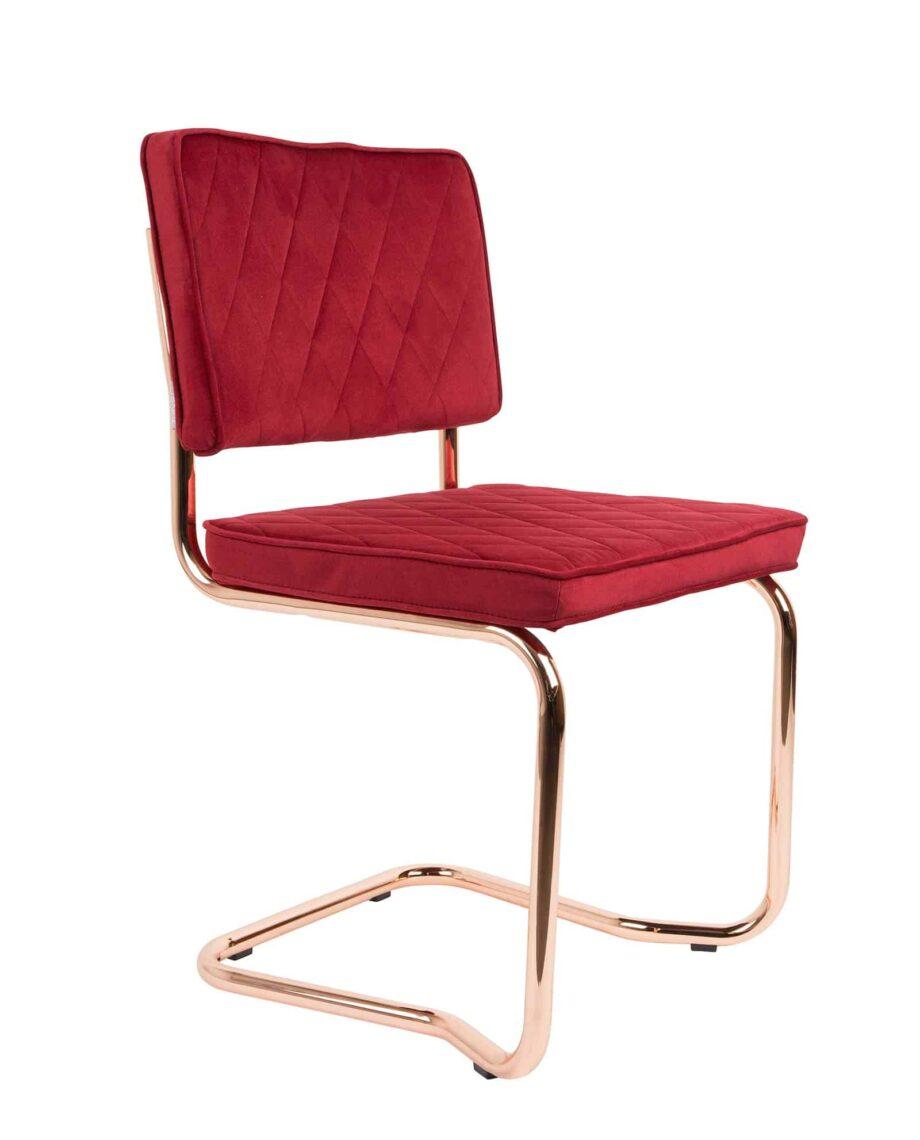 Diamond Kink stoel Zuiver rood