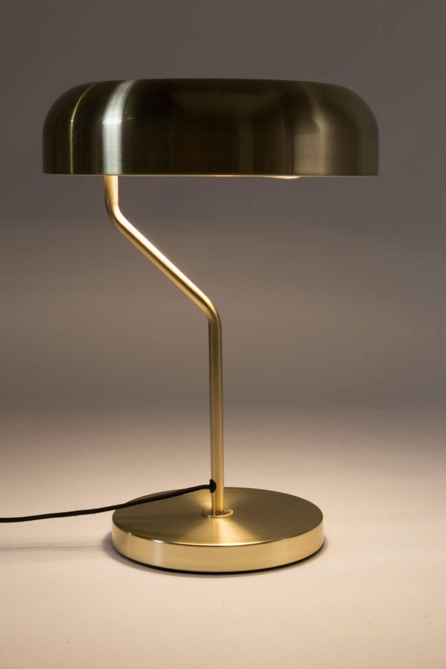 Eclipse tafellamp Dutchbone goudkleur