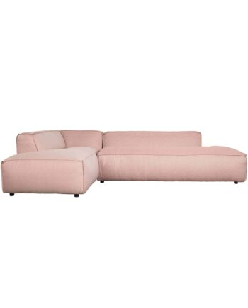 Fat Freddy sofa Zuiver links roze