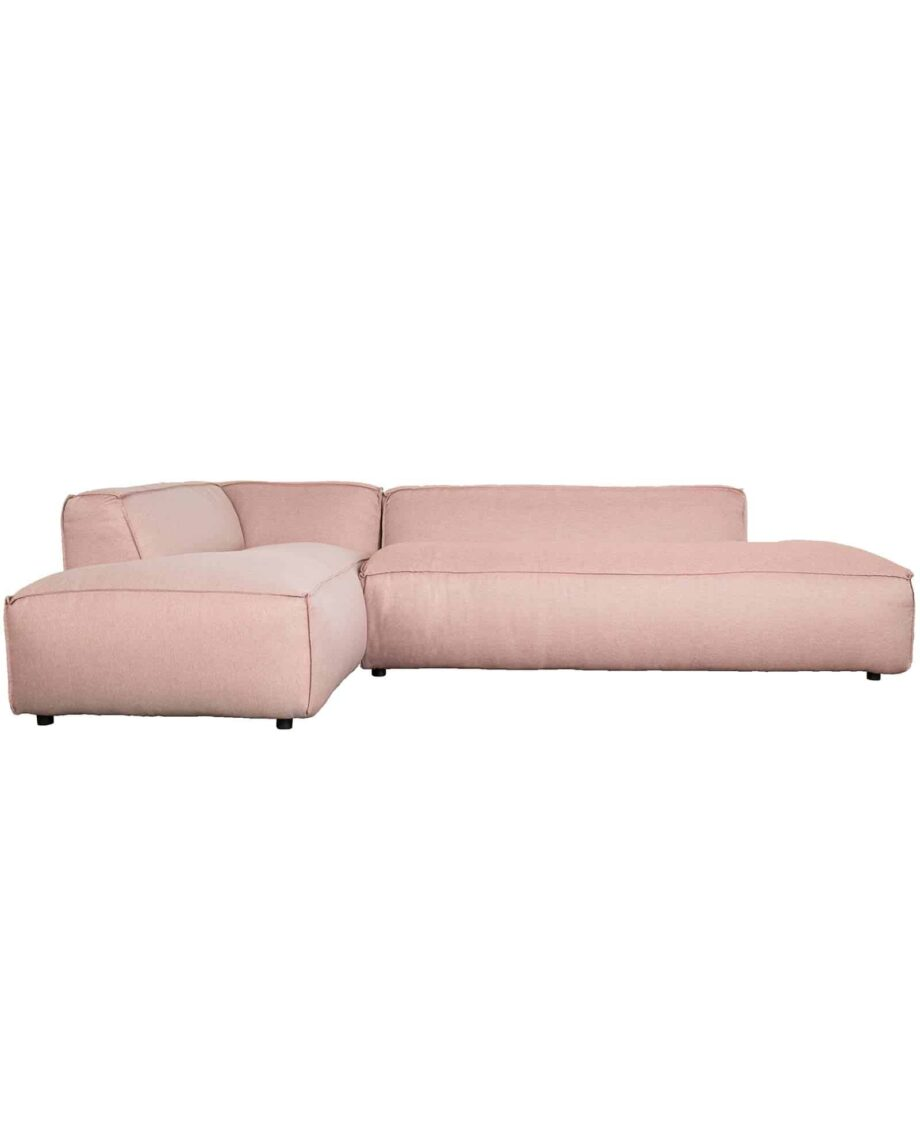 Fat Freddy sofa Zuiver links roze