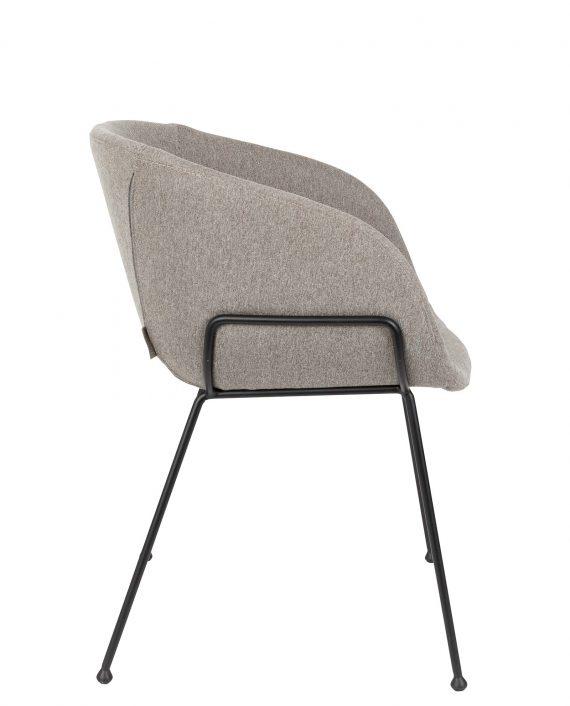 Feston fauteuil Zuiver grijs