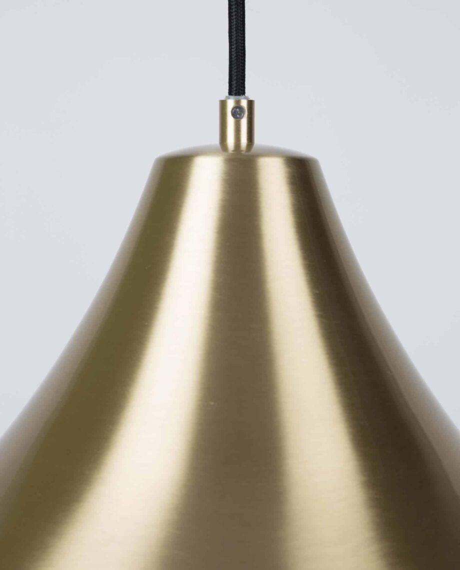 Gringo hanglamp Zuiver goudkleur