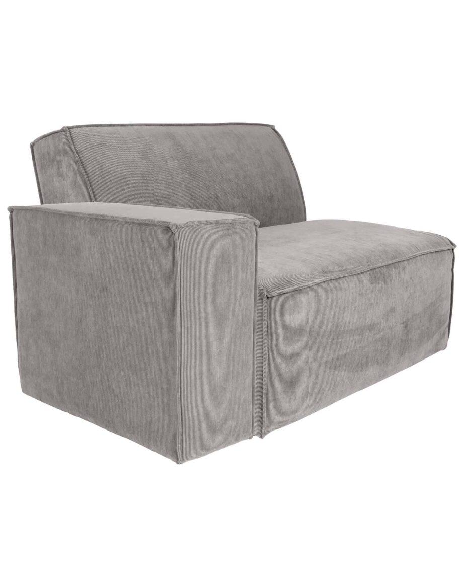 James sofa Zuiver lichtgrijs