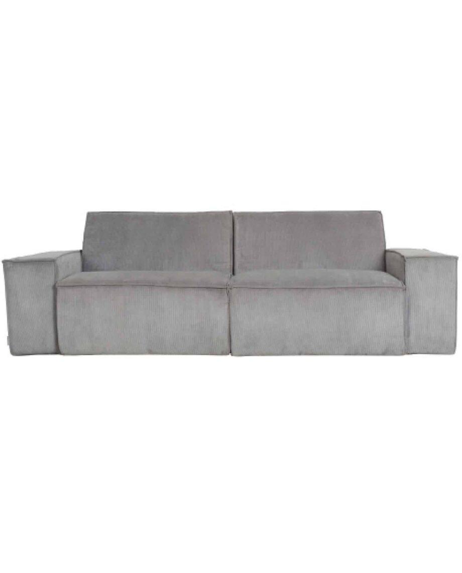 James sofa Zuiver lichtgrijs 2-zit
