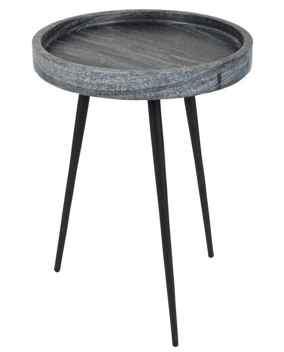 Karrara marmer bijzettafel Zuiver grijs