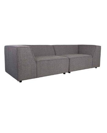 King sofa Zuiver donkergrijs