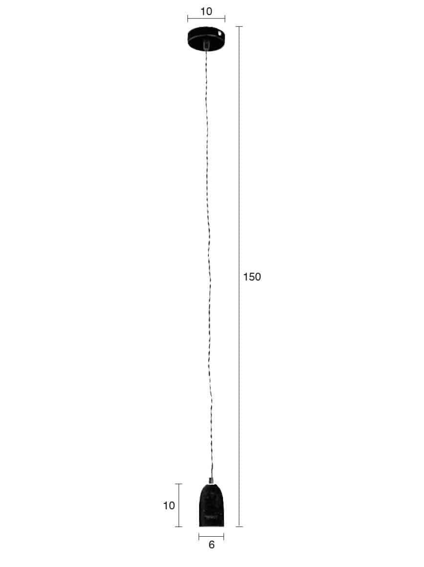 Mach hanglamp Zuiver afmetingen