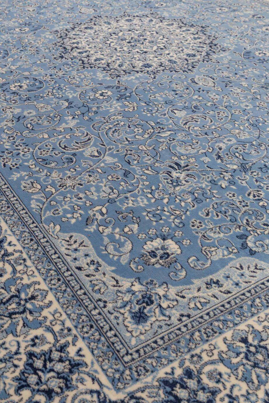 Milkmaid tapijt Zuiver blauw