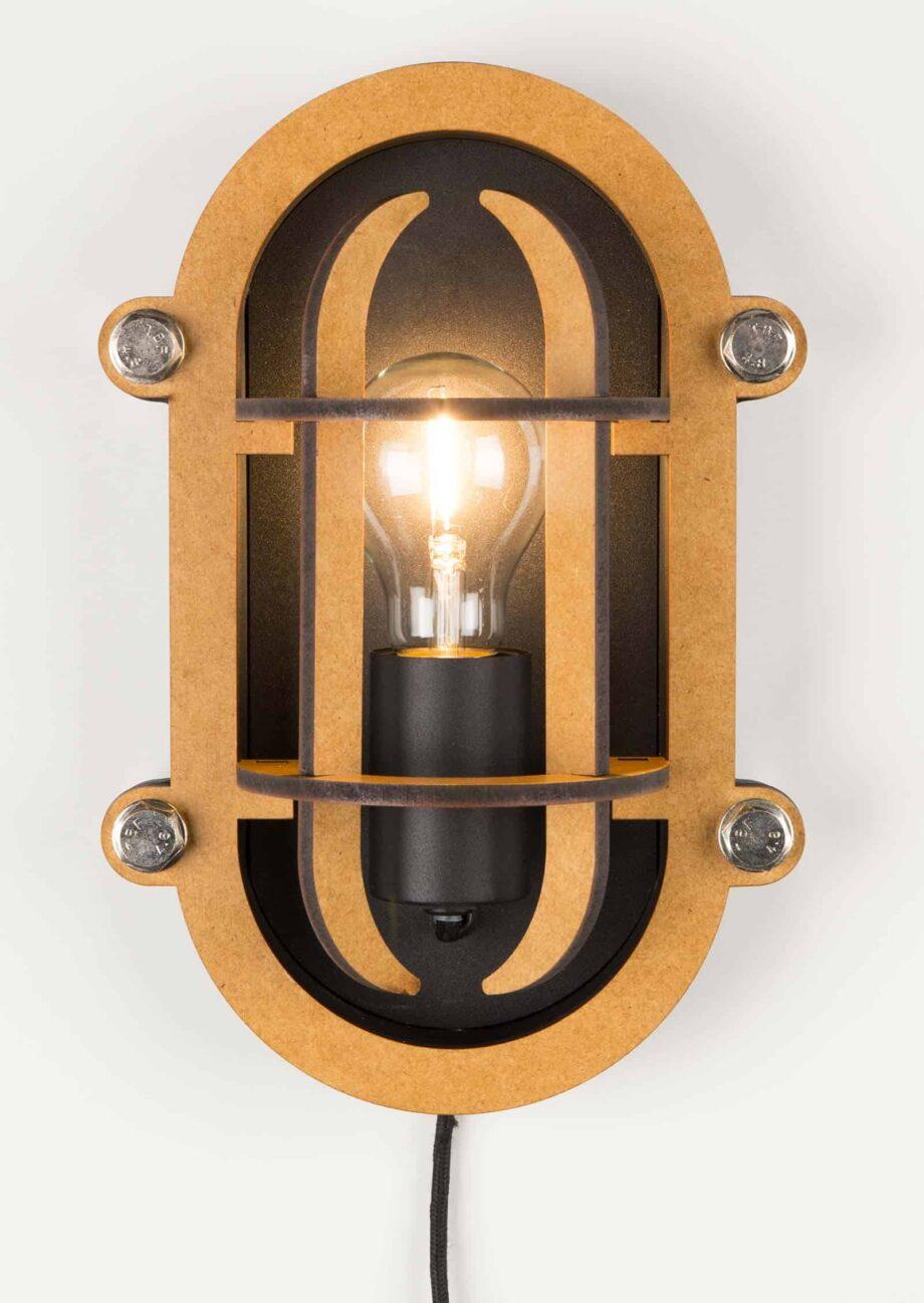 Navigator wandlamp Zuiver zwart