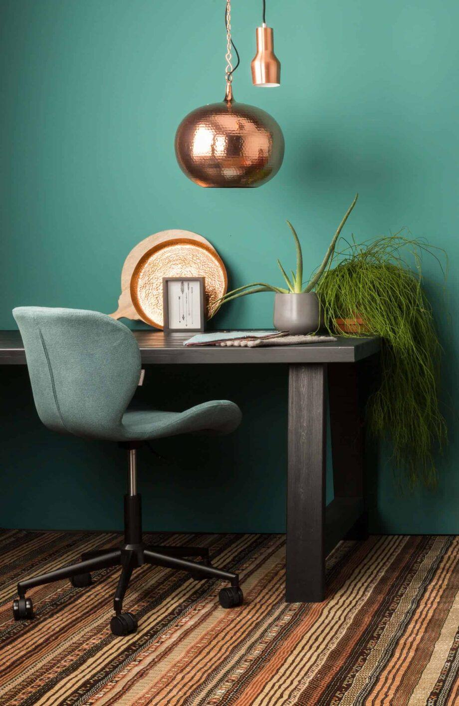 OMG office stoel Zuiver blauw grijs
