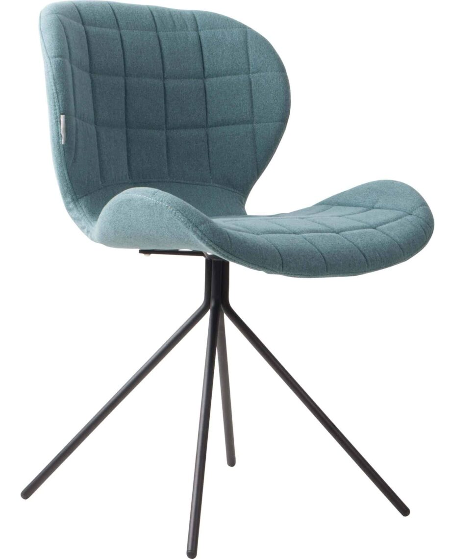 OMG chair Zuiver blue
