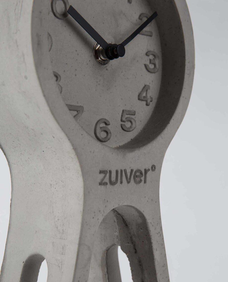 Pendulum Time klok Zuiver grijs