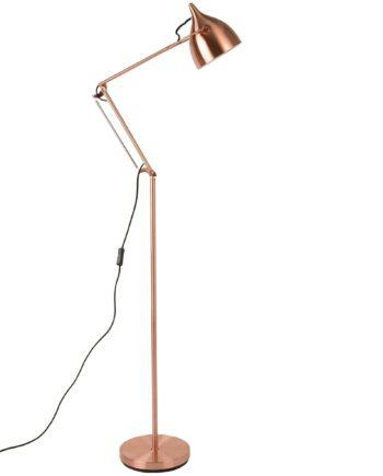 Reader vloerlamp Zuiver koper
