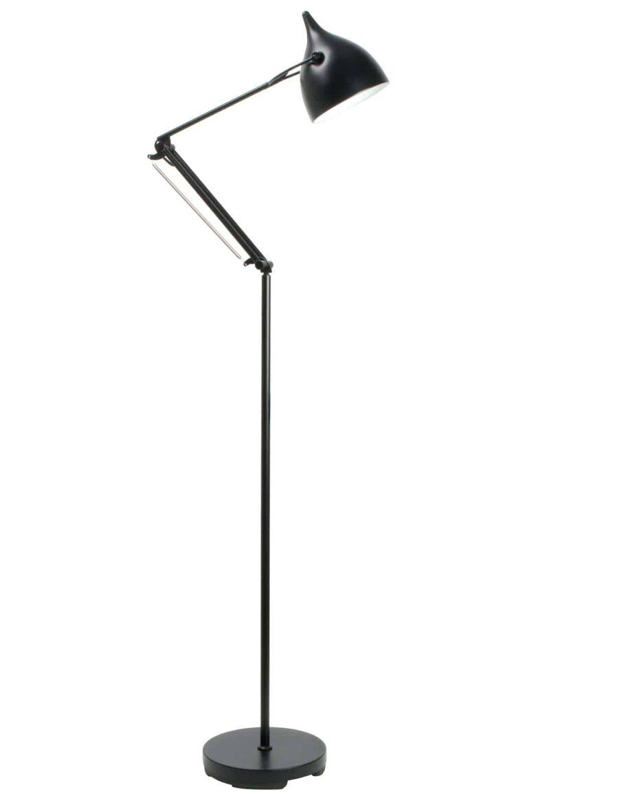 Reader vloerlamp Zuiver zwart
