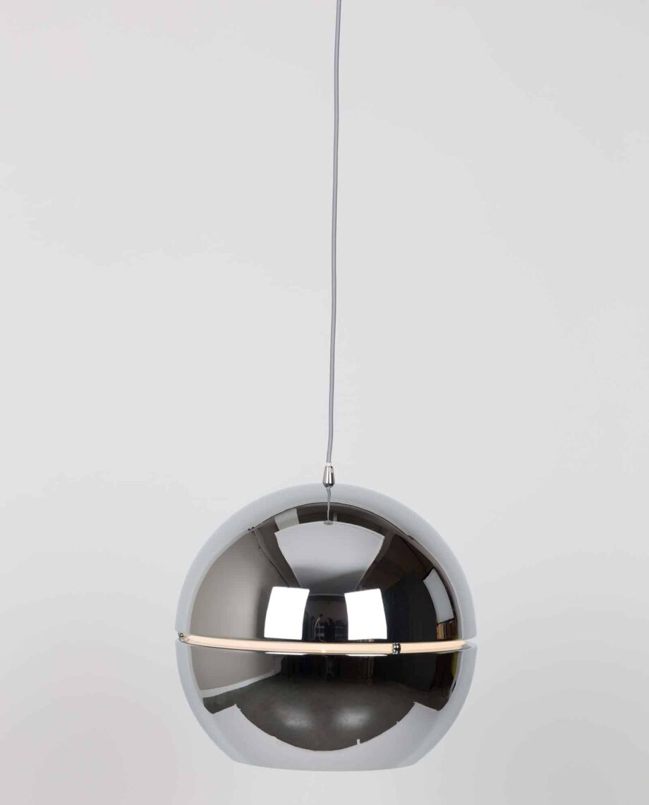 Retro 70 hanglamp Zuiver small zilver