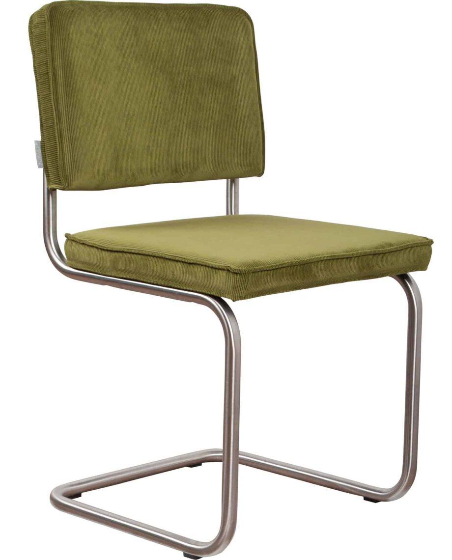 Ridge Rib stoel Zuiver groen