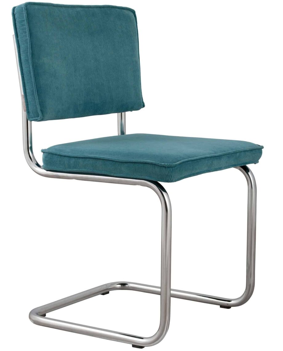 Ridge Rib stoel Zuiver turquoise