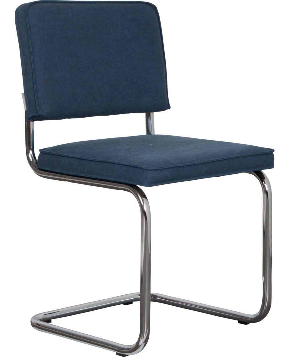 Ridge Vintage stoel Zuiver blauw