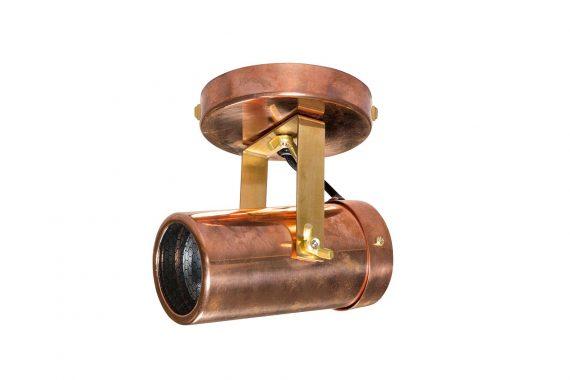 Scope spotlamp 1 Dutchbone koper