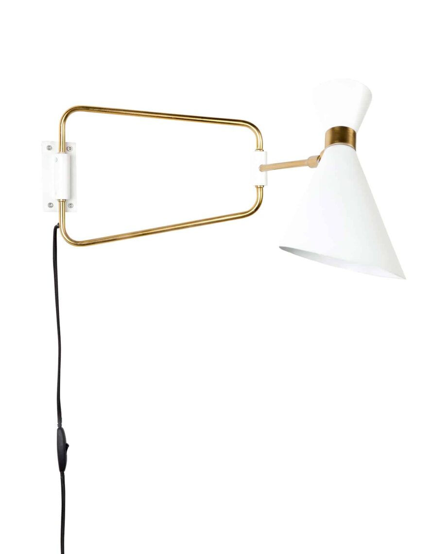 Shady wandlamp Zuiver wit