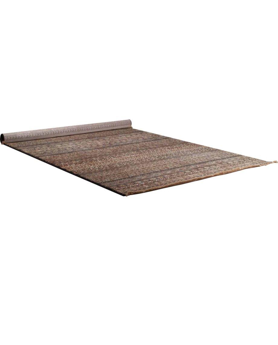 Shisha tapijt Dutchbone bruin-grijs