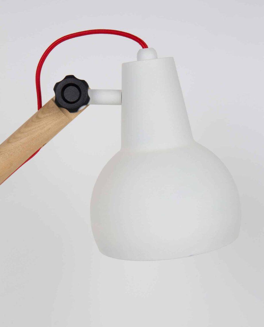 Study tafellamp Zuiver wit