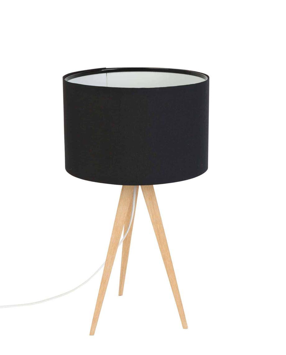 Tripod Wood tafellamp Zuiver