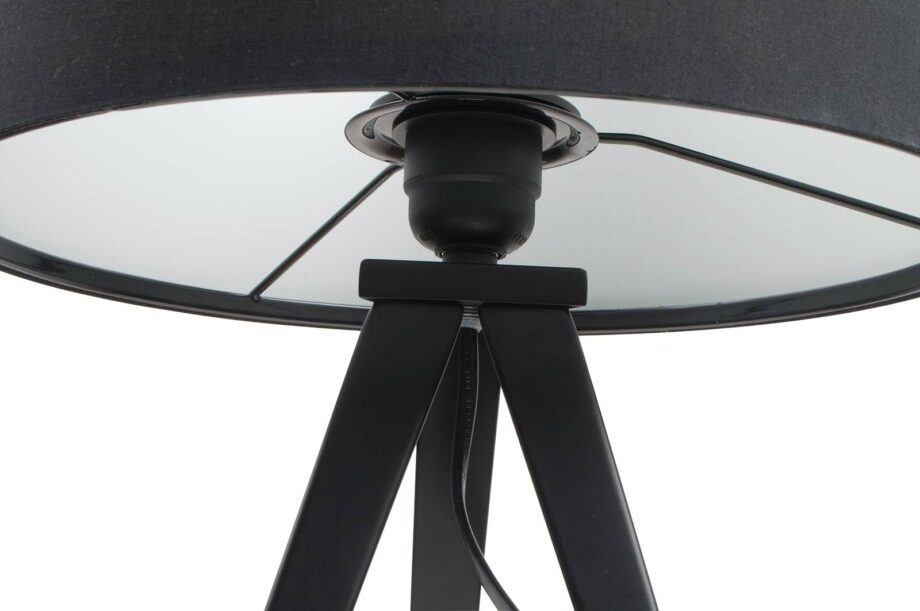 Tripod tafellamp Zuiver zwart