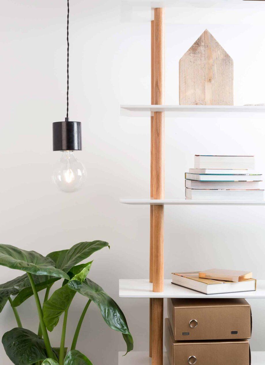 Trust hanglamp Zuiver zwart
