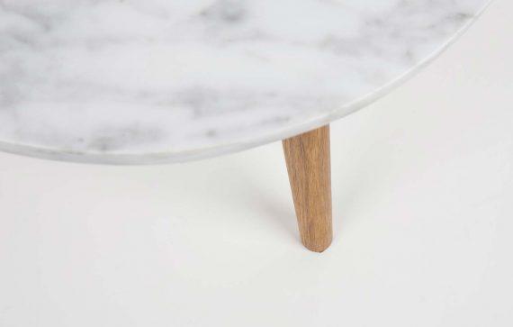 White Stone marmeren bijzettafels Zuiver large