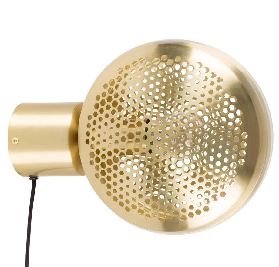 Gringo wandlamp Zuiver volledig goudkleur
