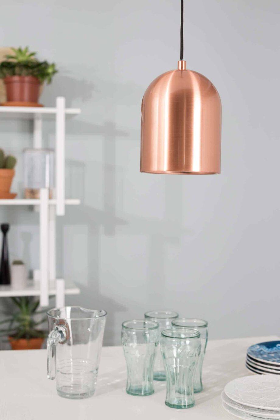 Marvel hanglamp Zuiver koper