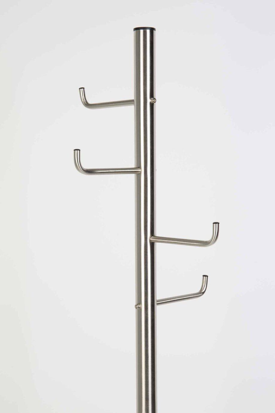 Hooked kleerhanger satijn nikkel Designshopp 2