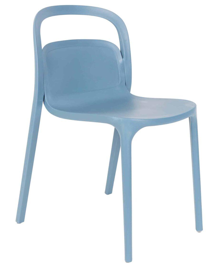 Rex stoel blauw Designshopp 1