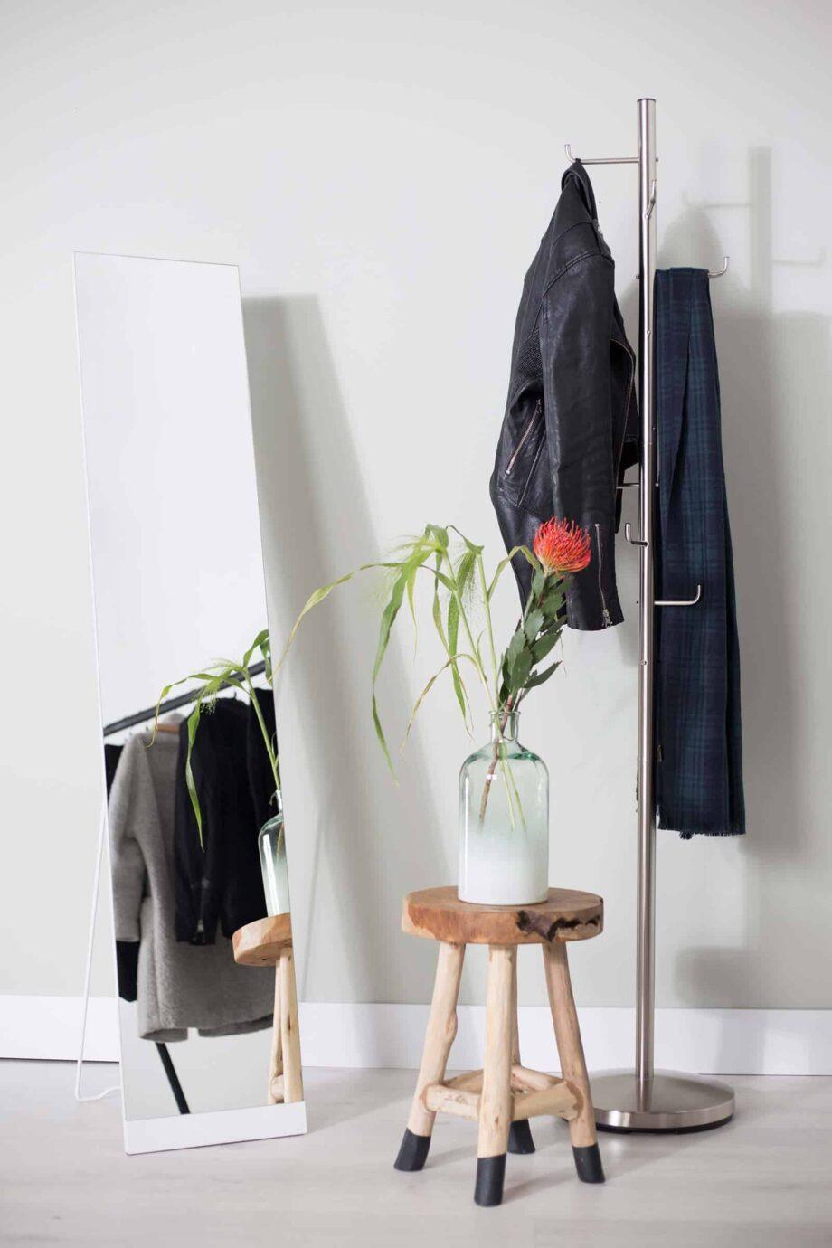 Stand spiegel wit Designshopp 2