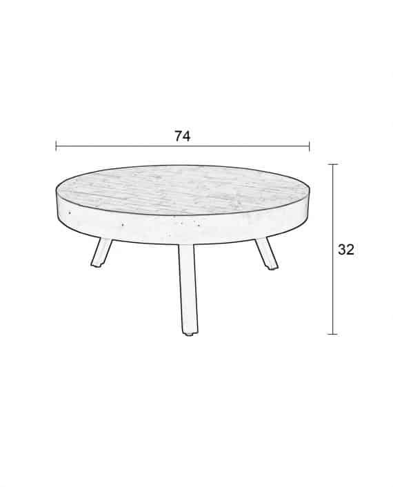 Suri koffietafel Large Designshopp 8